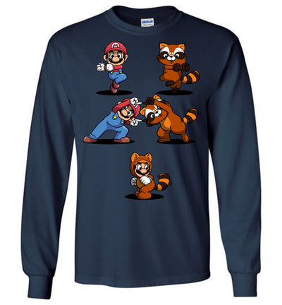 Mario Raccoon T-shirt