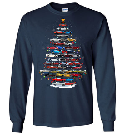 Stang Christmas T-Shirt - Christmas Tree From All Stangs