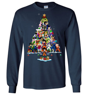 Dragon-Ball-Z Christmas T-shirt