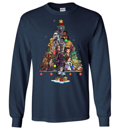 SW Characters Christmas T-shirt