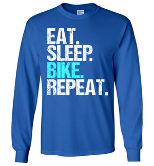 Eat Sleep Bike Repeat T-shirt