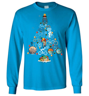 Bicycle Christmas T-shirt