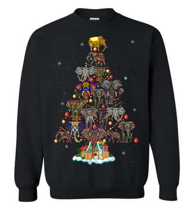 Elephant Christmas Sweatshirt