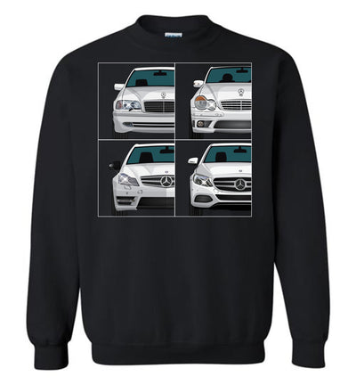 C-Class Front View Collection T-shirt