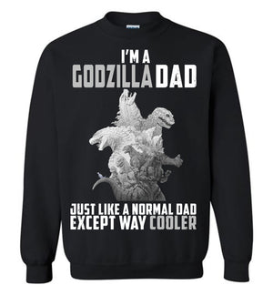 Godzilla Dad Much Cooler T-shirt v.4