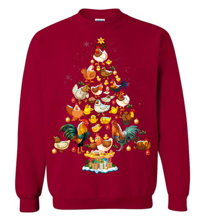 Chicken Christmas Sweatshirt