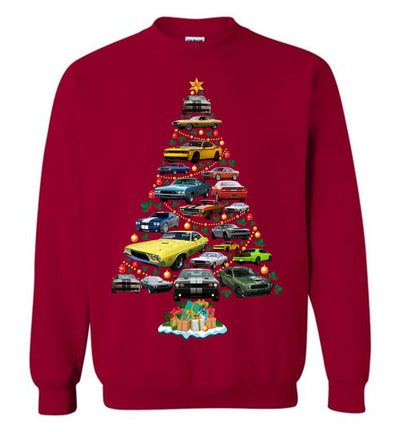 Dodge Challenger Christmas 2019 Sweatshirt