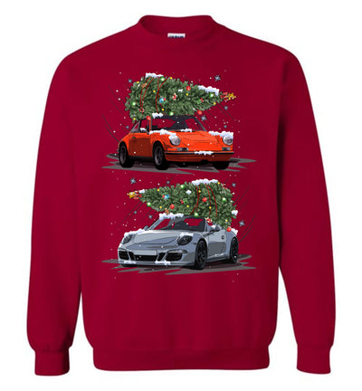 911s Carrying Christmas Trees Hoodie