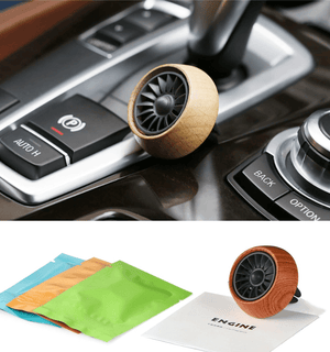 Wood Car Air Vent