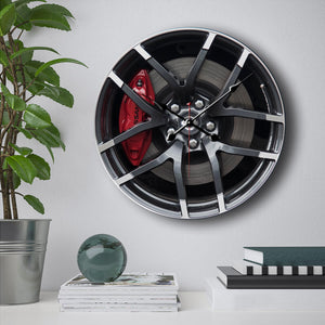 Nissan Z Steering Wheels Wall Clock