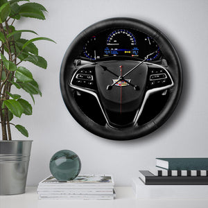 Caddy Interior Wall Clock