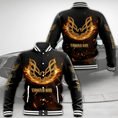 Firebird All Over Print Baseball Jacket