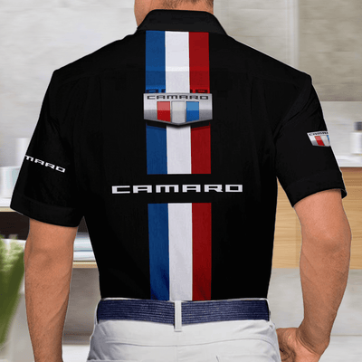 Camaro Casual Short Sleeve Button Shirt