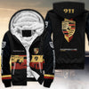 911 All Over Print Fleece Zipper Hoodie