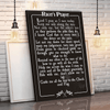 Racer's Prayer Canvas Wall Art