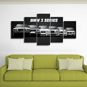 3 Series (No Year) Canvas Wall Art