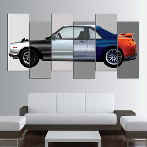 GTR Museum Canvas Wall Art