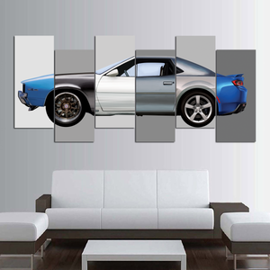 Camaro Museum Canvas Wall Art (new version)