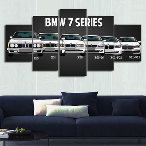 7 Series Canvas Wall Art