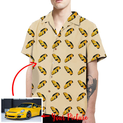 Personalized Car Picture Aloha Shirt