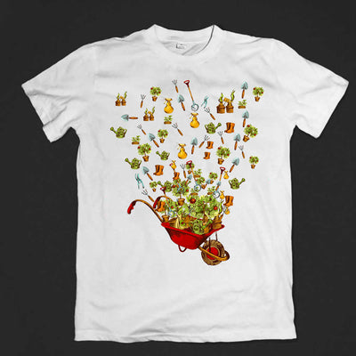 I Love Gardening Love Heart T-shirt
