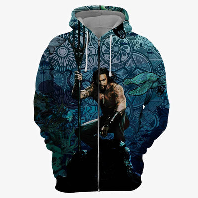 Kings of Atlantis All Over Print Hoodie