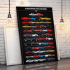 Stang New Collection Canvas Wall Art
