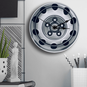 Challenger Steering Wheel Wall Clock