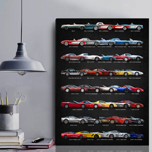 All CV Collection Canvas Wall Art