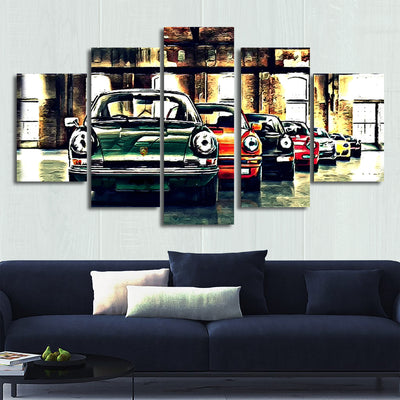 Nine-one-one Canvas Wall Art