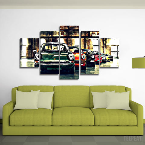 Porsche 911 Canvas Wall Art