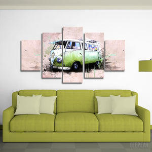 Kombi Canvas Wall Art