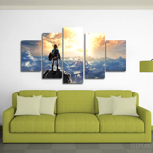 Link Canvas Wall Art