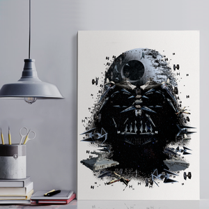 Darth Canvas Portrait