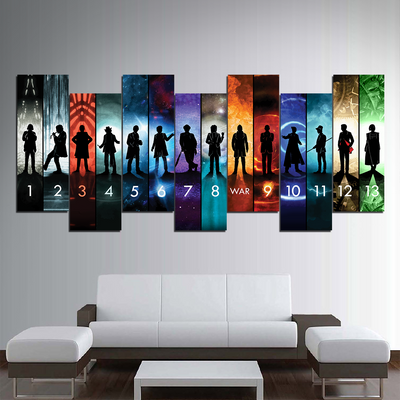 Doctor Who Collection Canvas Wall Art