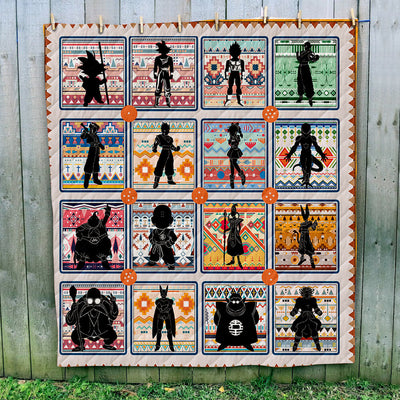 Dragon Ball Art Quilt