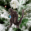 Godzilla Christmas Tree Decoration Hanging Ornament Set