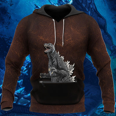 3D Art Godzilla Collection Hoodie