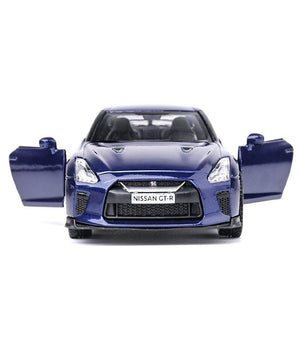 1/36 Scale Nissan GTR R35 Diecast Metal Car Model