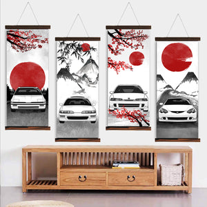 Integra Eastern Style Canvas Wall Art
