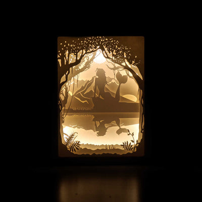 The Little Mermaid Shadowbox
