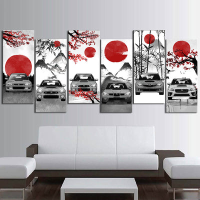 Impreza Eastern Style Canvas Wall Art