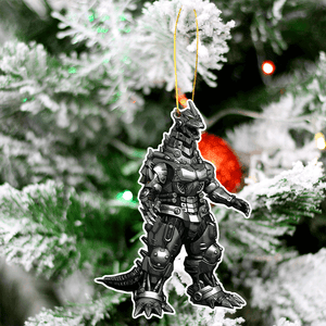 Kaiju Christmas Tree Decoration Hanging Ornament Set