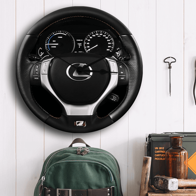 Lexus Steering Wheel Wall Clock