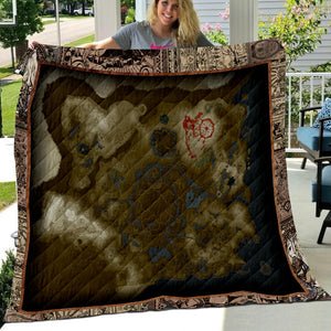 Legend of Zelda Art Quilt
