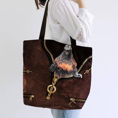 Godzilla Collection Art Tote Bag