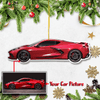 Personalized Car Christmas Tree Decoration Hanging Ornament