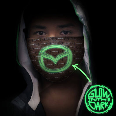 Miata MX-5 Luminous 3D Face Mask