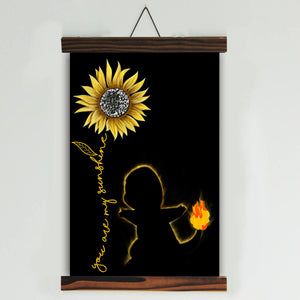You Are My Sunshine Canvas Wall Art (no.1)