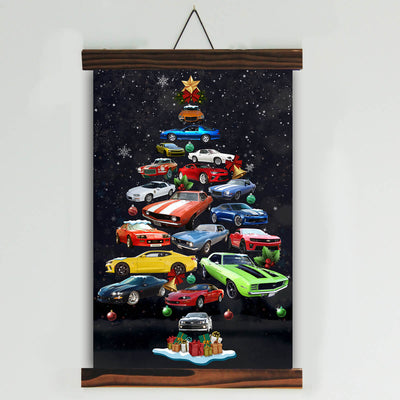 CMR Christmas Tree Canvas Wall Art